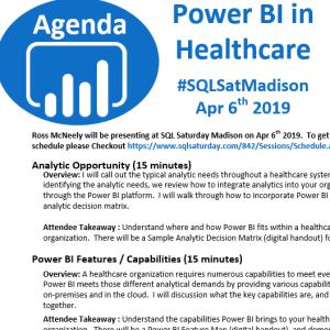 PBI Healthcare Agenda